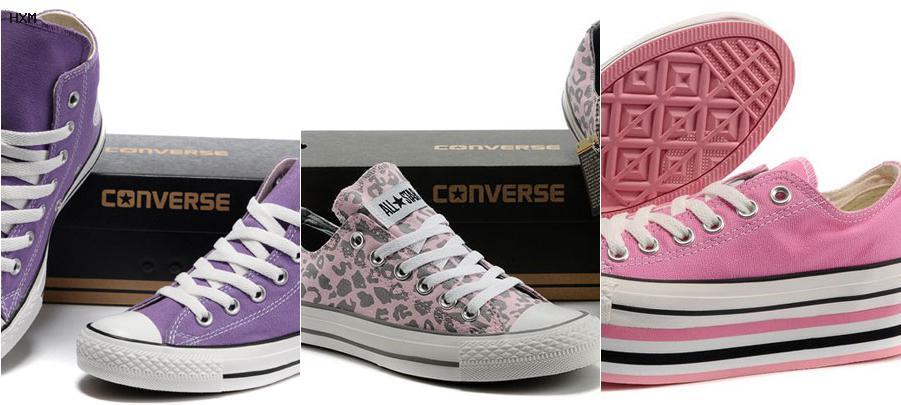 zapatillas converse botitas mujer