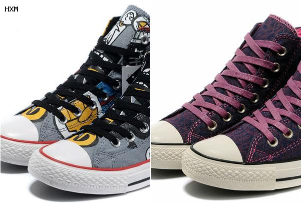 comprar zapatillas altas converse