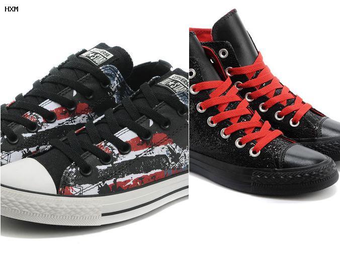 converse high heels