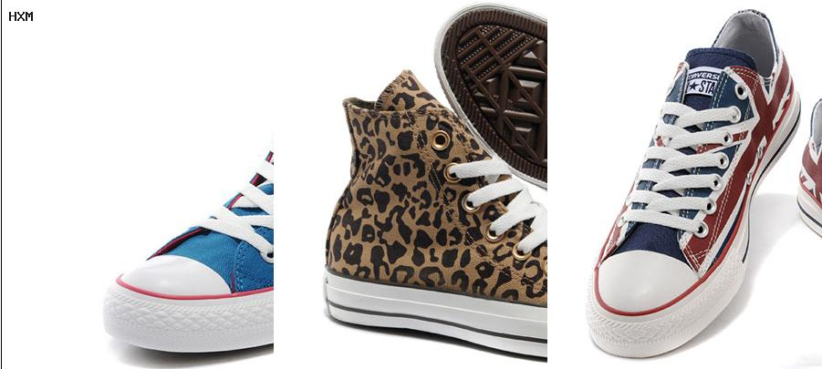 converse leopardo baratas