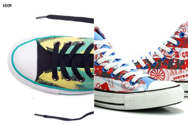 converse padded high tops