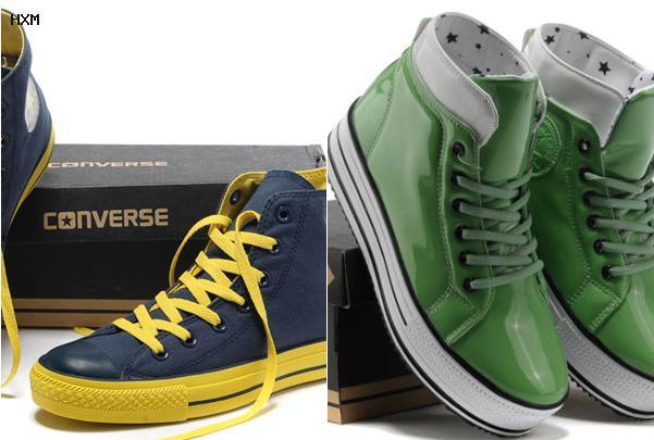 modelos de zapatillas converse de cuero