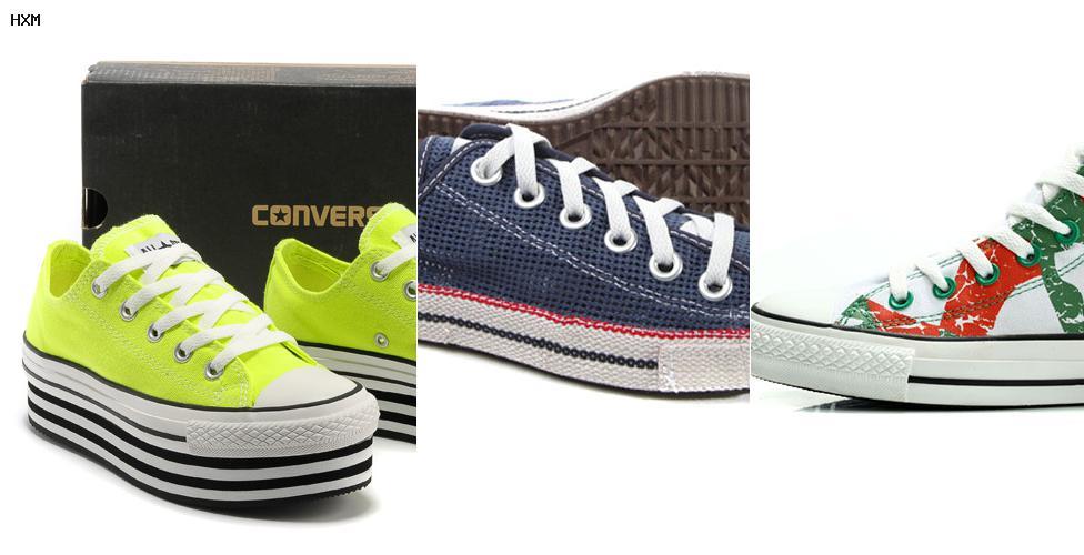 modelos de zapatillas de mujer converse