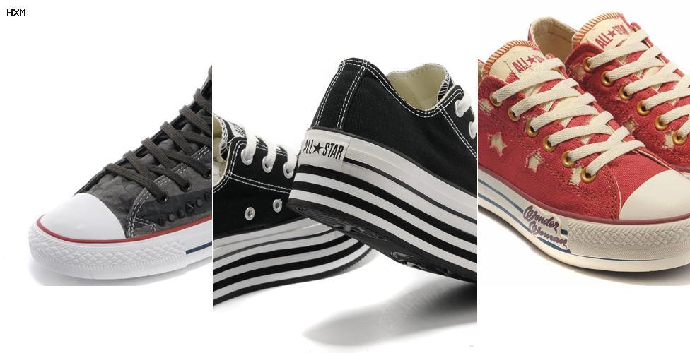 modelos de zapatos converse