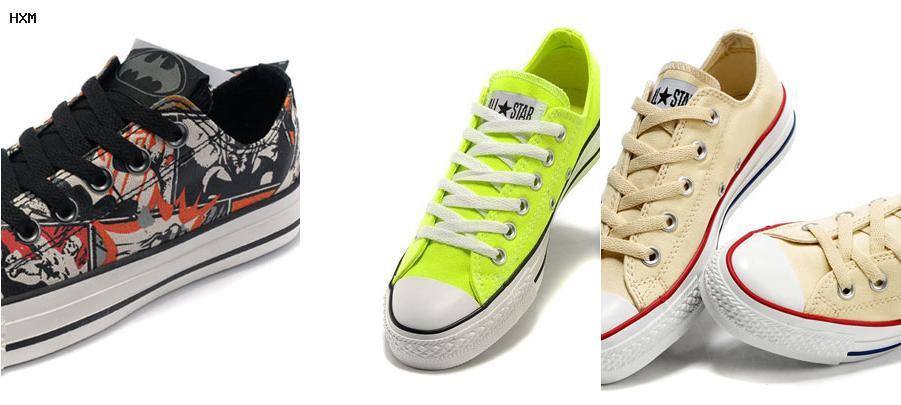 ofertas zapatillas converse piel