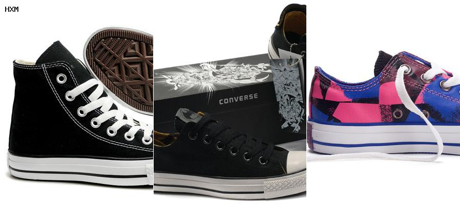 talla converse all star