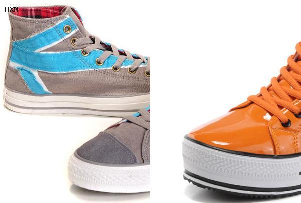 vestidos con zapatos converse