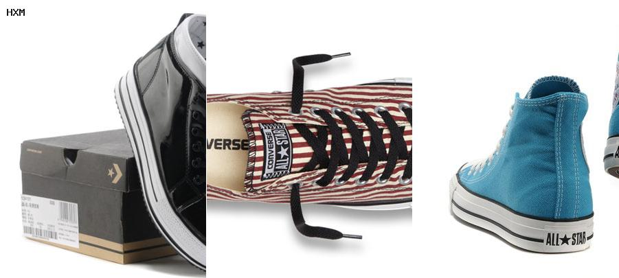 what kind of converse does slash wear