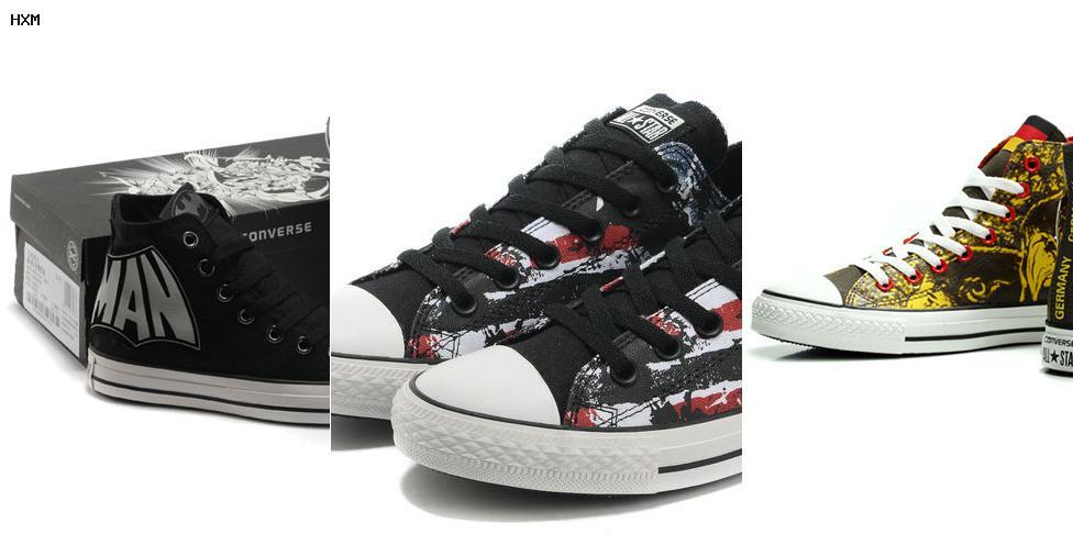 zapatillas all star converse rojas