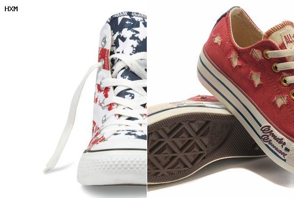 zapatillas converse altas o bajas