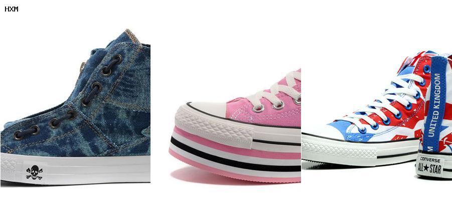 zapatillas converse con tachuelas