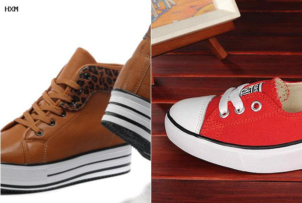 zapatillas converse rojas de gamuza