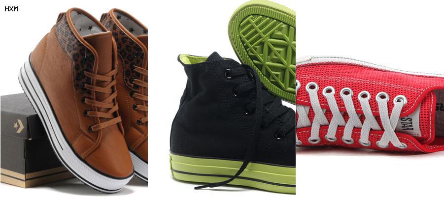zapatillas converse rojas