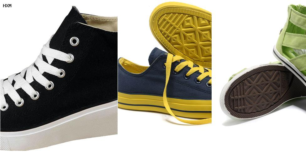 zapatillas converse skate mujer