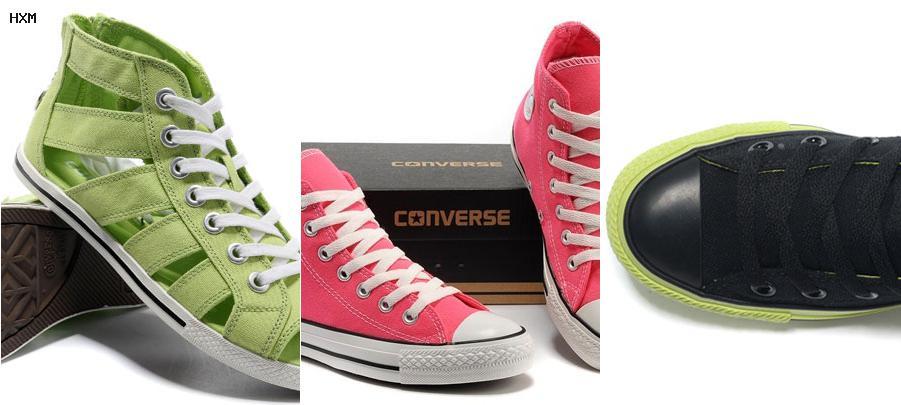 zapatillas panchas converse