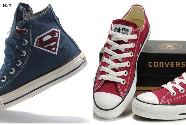 zapatos converse de cuero para damas