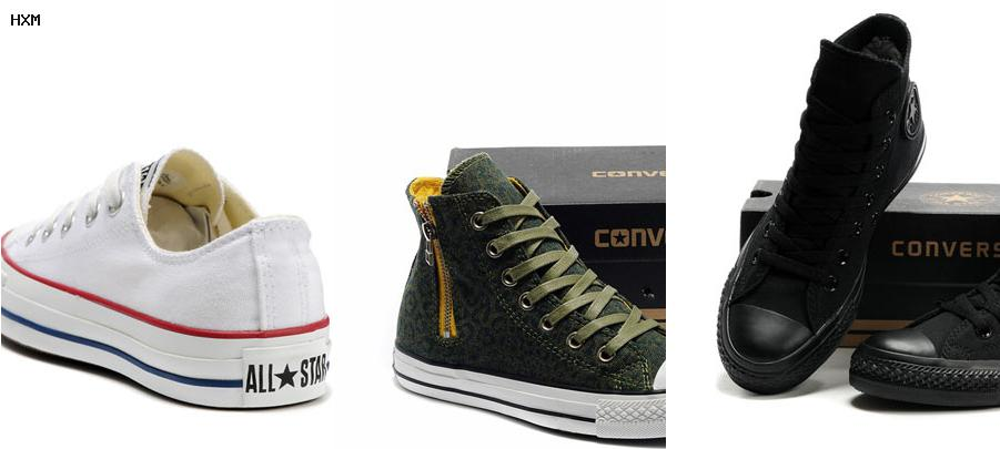 zapatos converse para damas mercadolibre